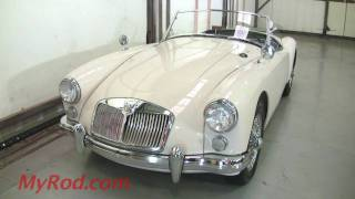 1961 MGA (video 1) - MyRod.com