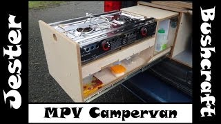 A New MPV Campervan For JesterBushcraft - First Outing