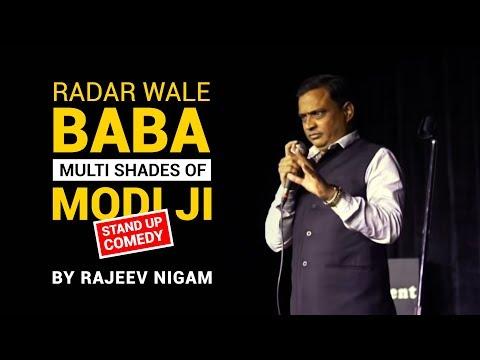 Radar Wale Baba   The Multi Shades of Modi Ji   By Rajeev Nigam