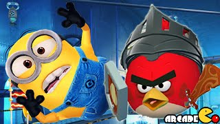 Despicable Me: Minion Rush Sonic Dash Angry Birds Epic Takeover Super Silly Fun Land!