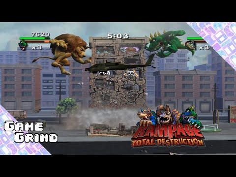 Rampage Total Destruction Walkthrough Gameplay Youtube