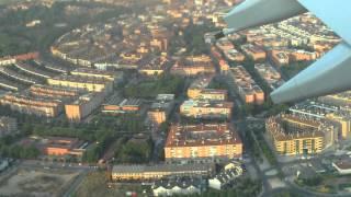 Aterrizando en Aeropuerto Barajas, Madrid, España - FILE0003.MOV