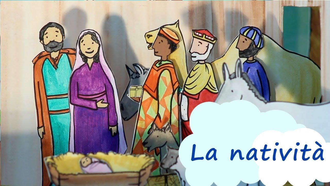 Storie per bambini la storia di natività cartoni animati