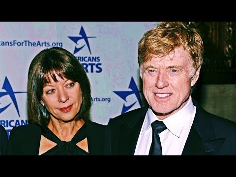 Robert Redford And His Wife Sibylle Szaggars