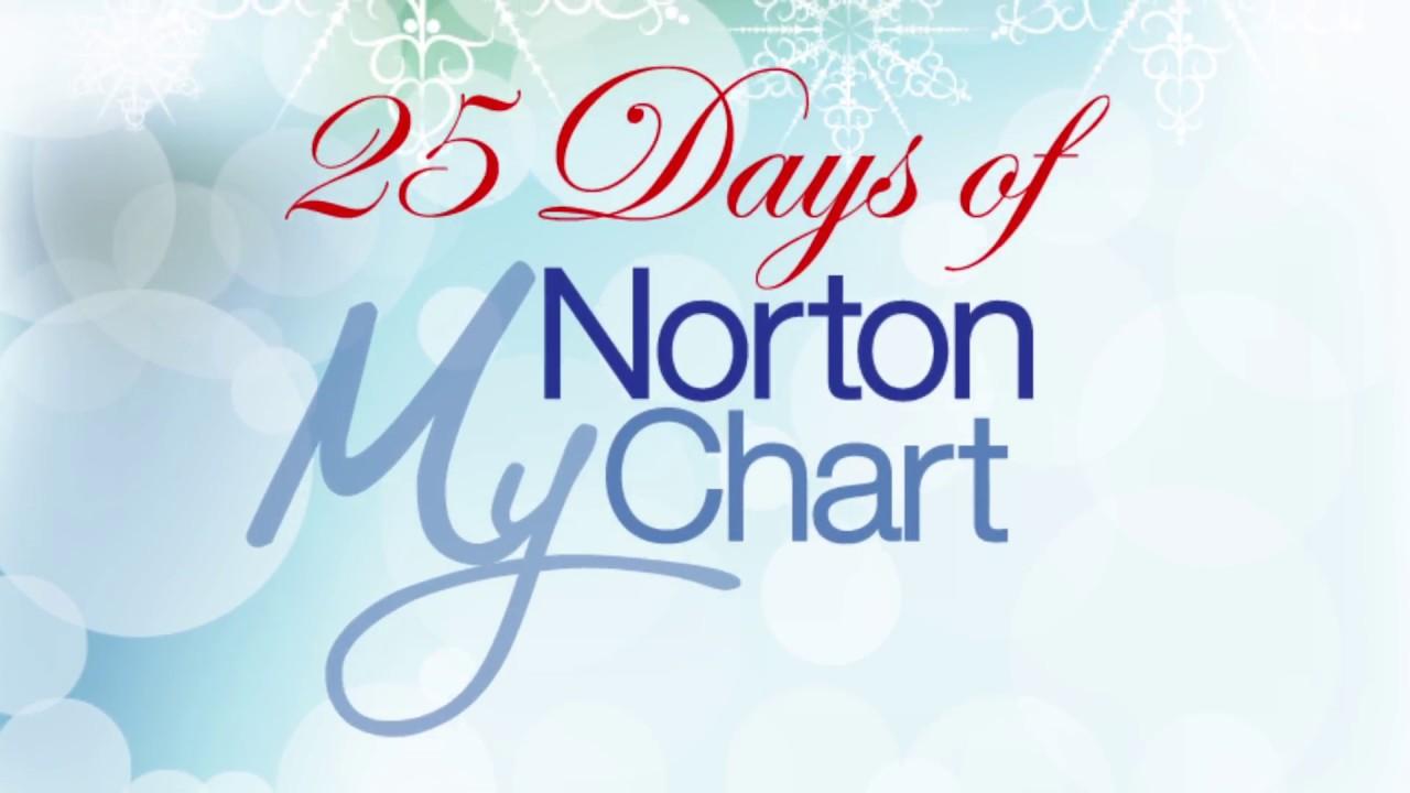 25 Days Of Mynortonchart Norton Healthcare