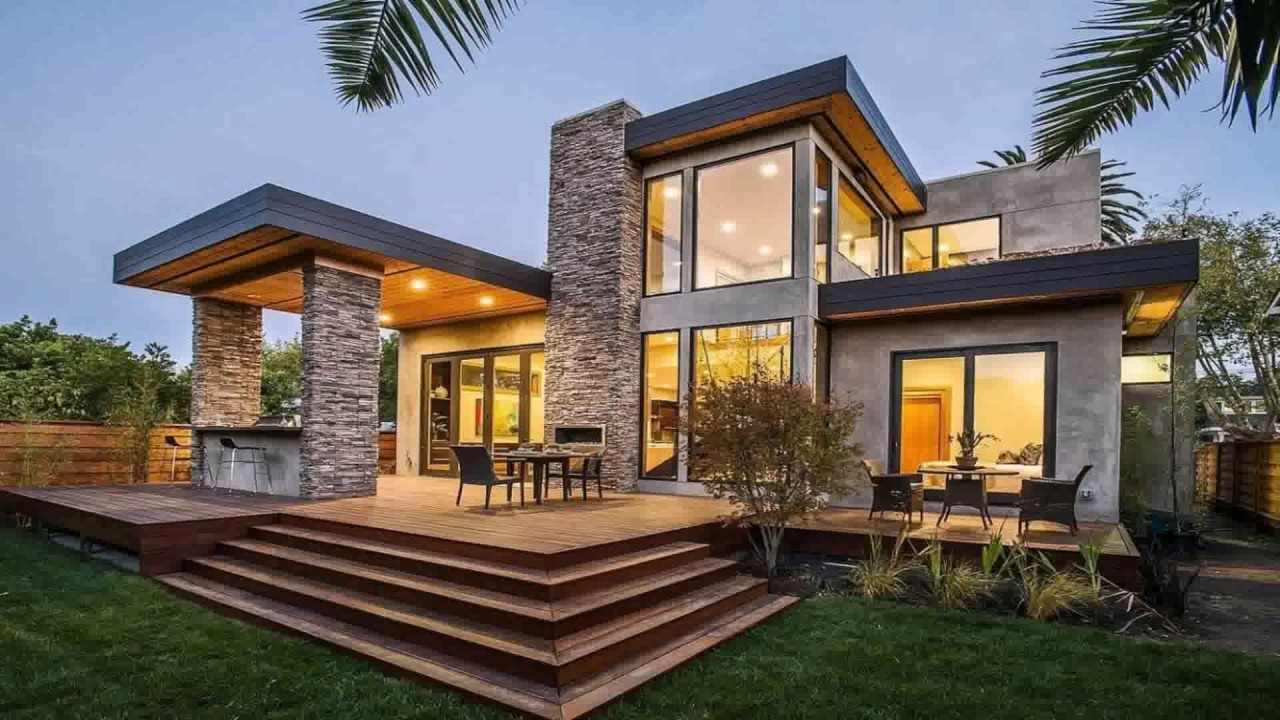 Modern house styles pictures youtube Types of modern houses