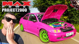 🐒 22YR OLD PINK FORD GAPS PORSCHE'S! MAX POWER PROJECT 2000