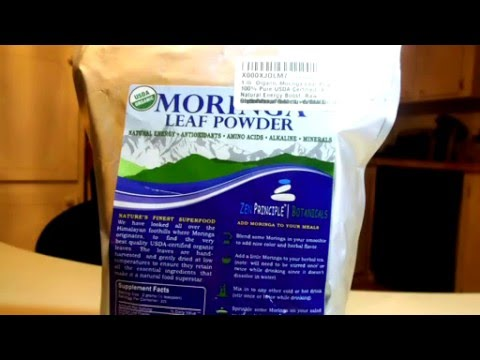 1 lb Organic Moringa Leaf Powder  100% Pure USDA Certified