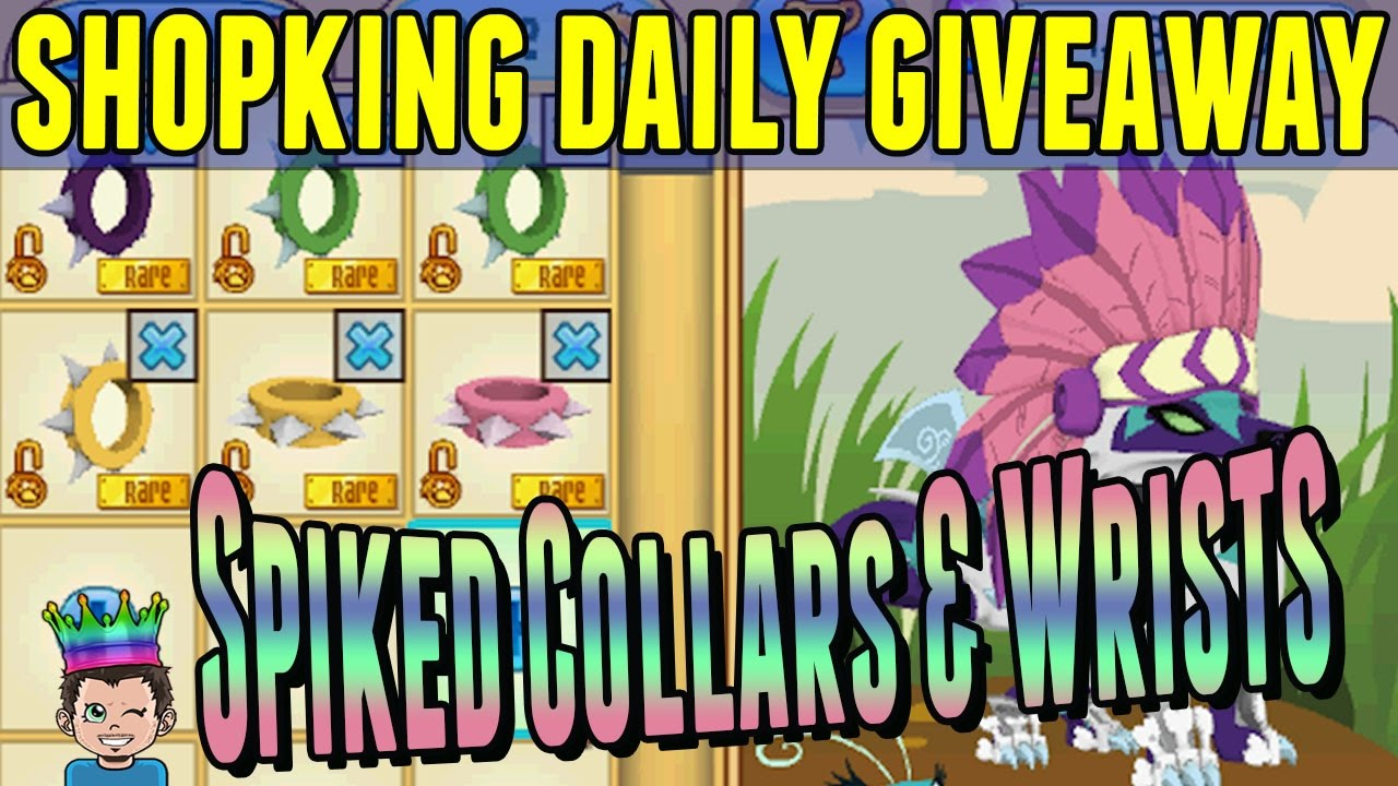 Shopking Daily Giveaway: Rare Short Spiked Collars & Wrists