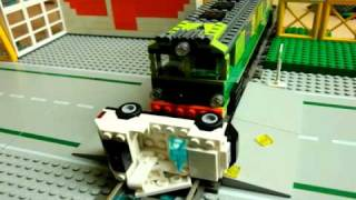 126p LEGO crash test