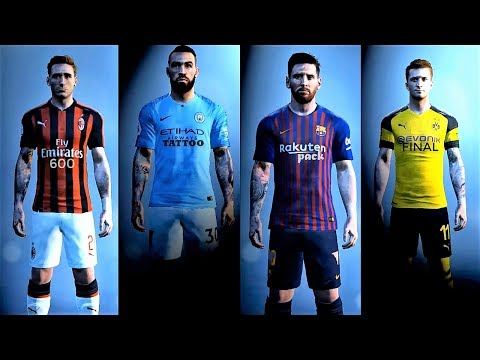New Ultra Tattoo Pack 600 Final [Download and Install] | PES 2017