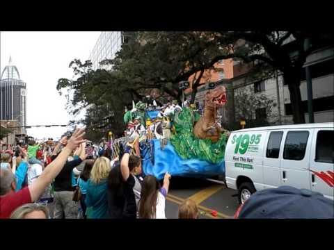 Mardi Gras, Mobile Alabama 2014
