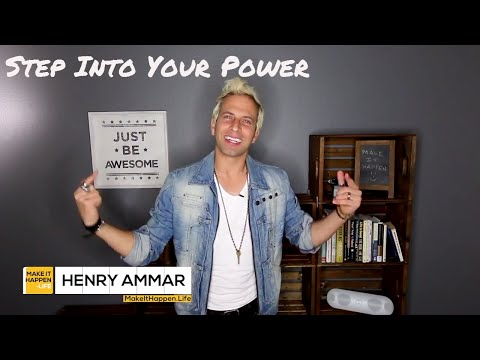 Henry Ammar - Step Into Your Power