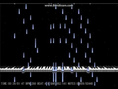 【耳コピ】 量子の海のリントヴルム 【ピアノアレンジ】