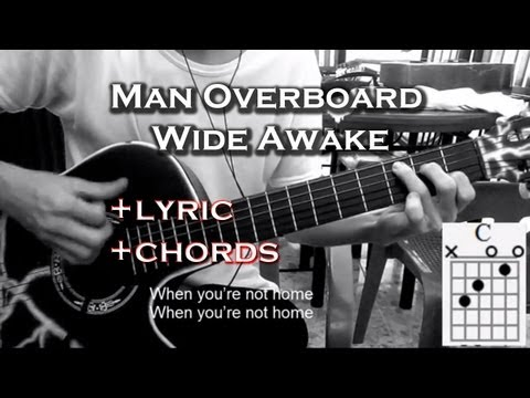 """▶Man Overboard ~ """"Wide Awake""""◀   Cover Guitar Acoustic   Lyric Chords Video✔"""