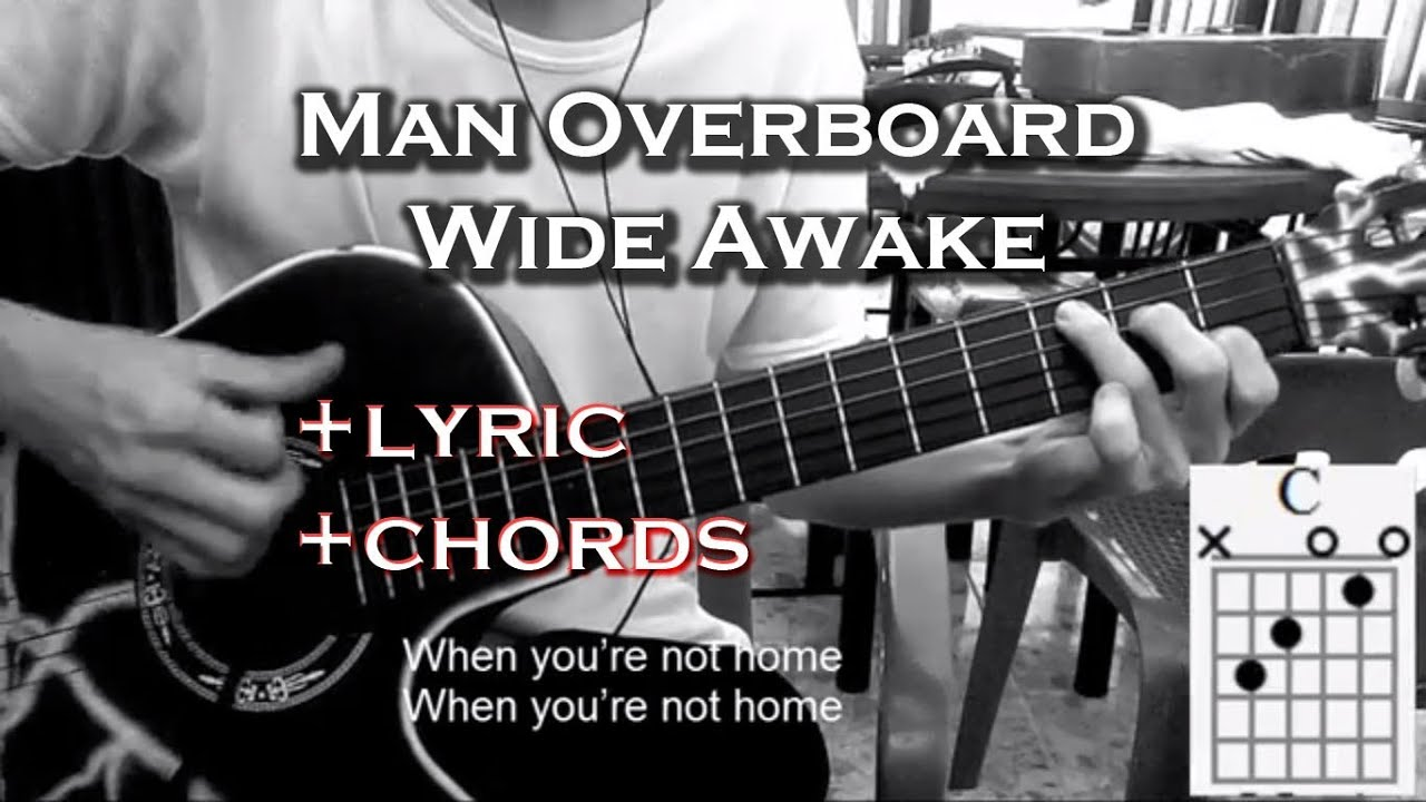 Man Overboard Wide Awake Cover Guitar Acoustic Lyric