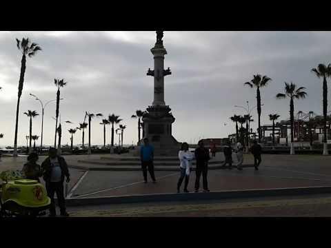 Plaza Grau Puerto del Callao Perú