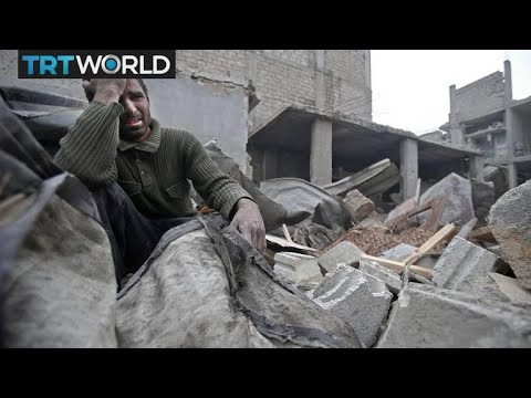 The War in Syria: Dozens including children killed in East Ghouta