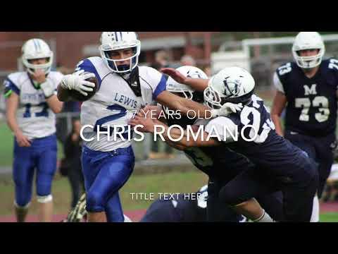 Sponsor Me Chris Romano