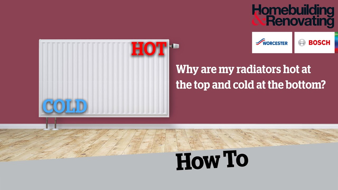 Why Is My Radiator Hot At The Top And Cold At The Bottom Youtube