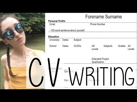 HOW TO WRITE A CV THAT STANDS OUT! TIPS + ADVICE | A SUMMER DAY IN MY LIFE VLOG