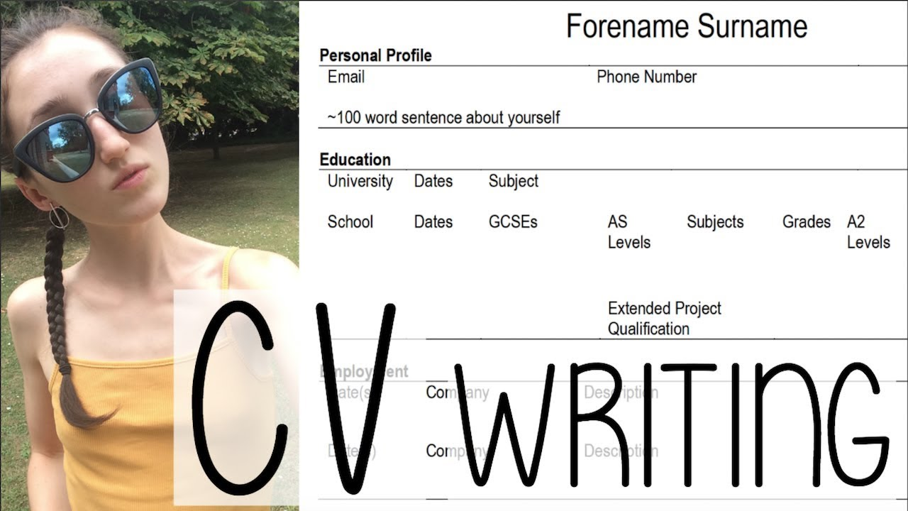 HOW TO WRITE A CV THAT STANDS OUT! TIPS + ADVICE   A SUMMER DAY IN MY LIFE VLOG