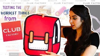 Weird Club Factory Haul + Review -Testing the most questionable items! Do they work?  | #HeliHauls