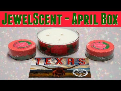 JewelScent Jewels of America Subscription Box - April 2018!
