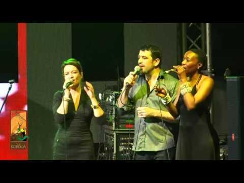 Manu Dibango performs Alfonsina y el Mar  Live at the Koroga Festival
