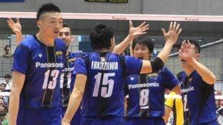 Volleyball パナソニック vs 堺  3set Vプレミアリーグバレーボール決勝 2013.4.14