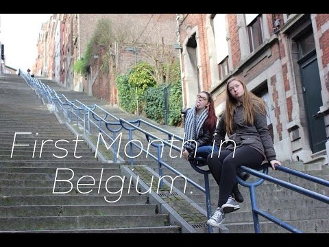 First Month as an Exchange Student in Belgium // Mekayla O'Grady
