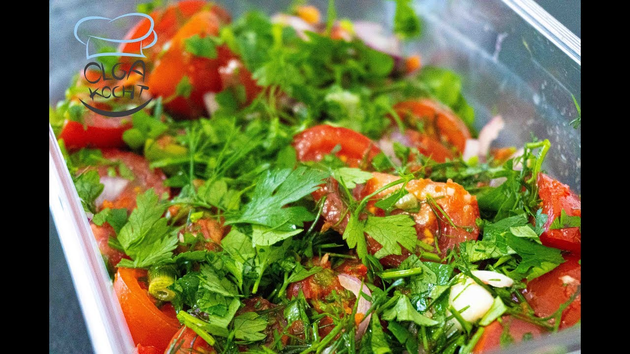 Schnell Eingelegte Tomaten