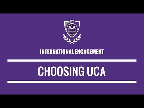 Choosing the University of Central Arkansas - International students