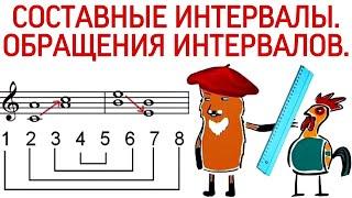 47 урок: «СОСТАВНЫЕ ИНТЕРВАЛЫ. ОБРАЩЕНИЯ ИНТЕРВАЛОВ В МУЗЫКЕ.» Курс «PUZZLE PIANO».