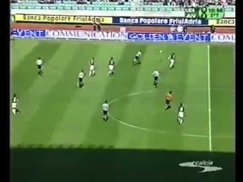Udinese - Juventus 0-2 (05.05.2002) 17a Ritorno Serie A. (Ampia sintesi ed immagini del trionfo).