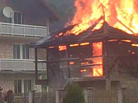Požar u Sapni
