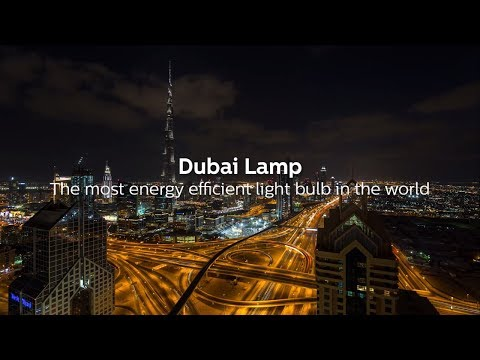 Dubai Lamp: The Most Energy Efficient Light Bulb in the World