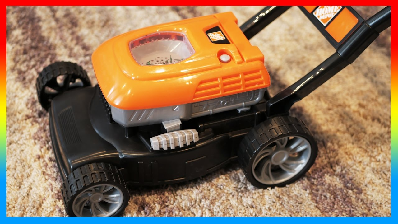 New toy lawn mowers indoor play with home depot lawn mower for Depot moers
