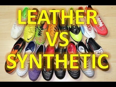 9319f522f Leather VS Synthetic Soccer Shoes - Question Of The Week - YouTube