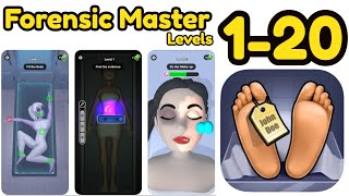 Forensic Master Game All Levels 1 - 20 Gameplay Walkthrough screenshot 2