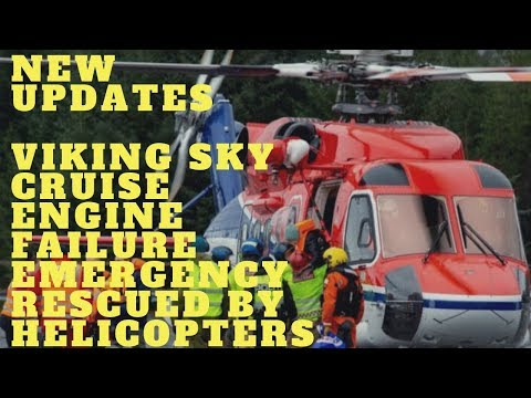 NEW UPDATE: NORWAY: VIKING SKY CRUISE SHIP ENGINE WORKS AND NOW ON ITS WAY TO MOLDE PORT