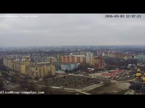 Погода в  Івано-Франківську, (Live) 3.03.2016