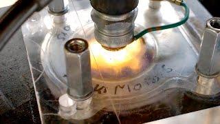 Un moteur de moto transparent !