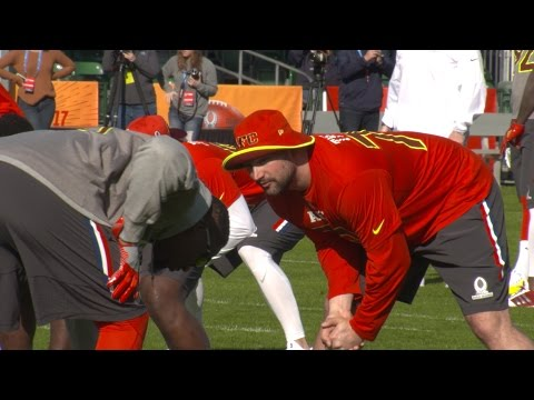 Pro Bowl 2017: Joe Thomas Mic