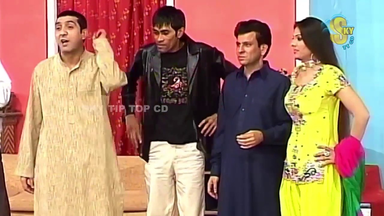 Best of Zafri Khan and Payal Choudhary New Pakistani Stage Drama Full Comedy Clip | Pk Mast