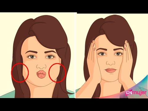 Como reducir la grasa facial