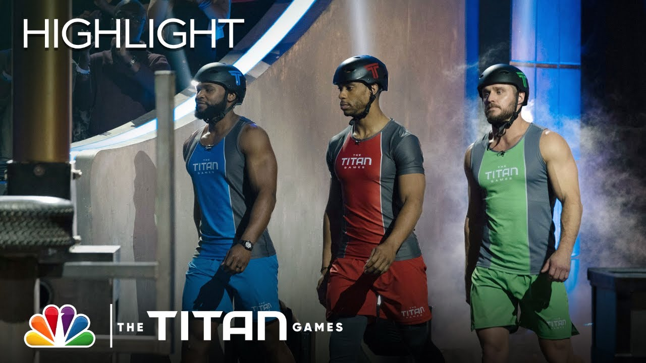 Victor Cruz, Wayne Skivington and Exodus Rogers Face Off on Hammer Down - The Titan Games