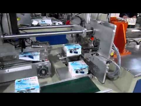 Soft Tissue Paper Packing Machine Automatic Napkin Paper Bagging and Sealing Machine