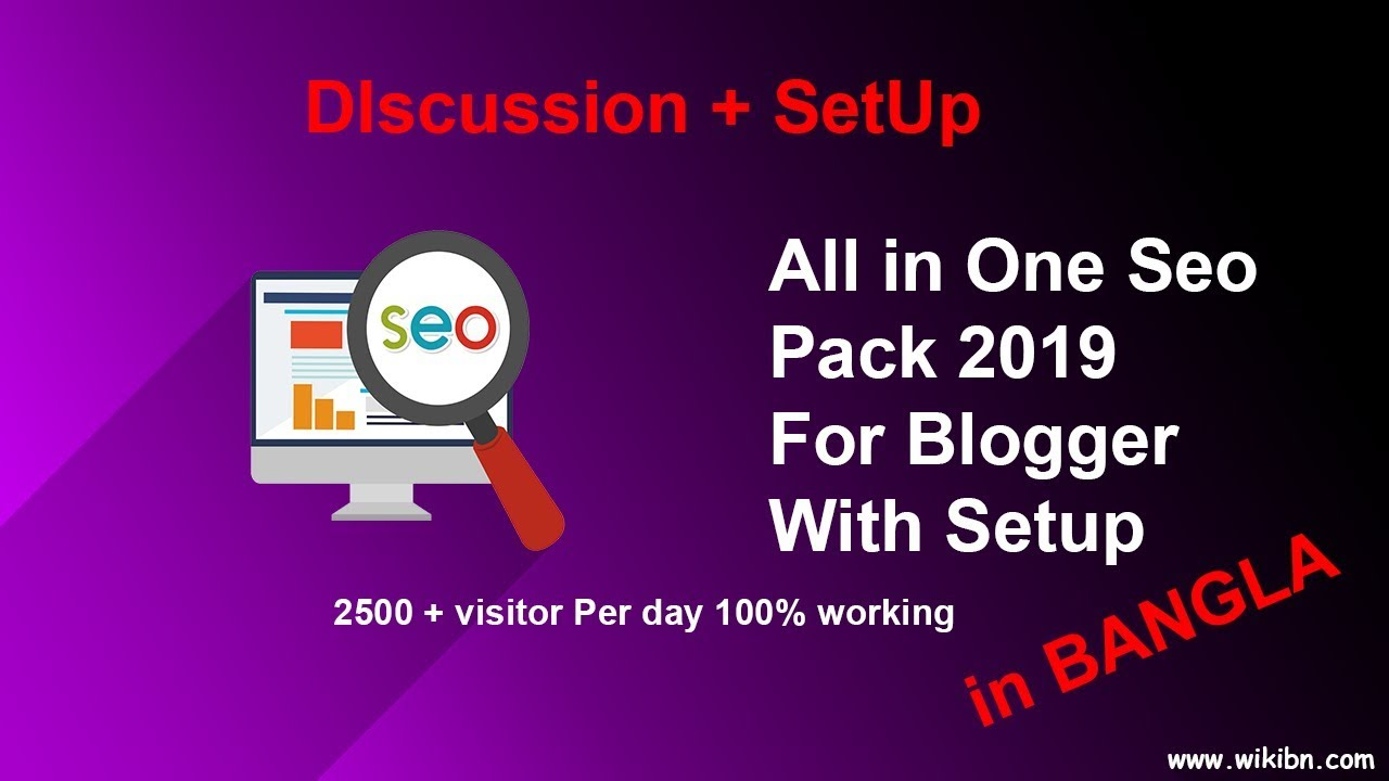 All in One Seo Pack Code for Blogger 2019 With Discussion and Setup