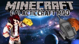 Minecraft รีวิว MOD : GalacticCraft - ดวงจันทร์,ดาวอังคาร และ อีกมากมาย!